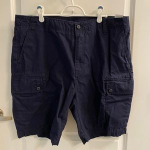 Nautica Navy cargo shorts